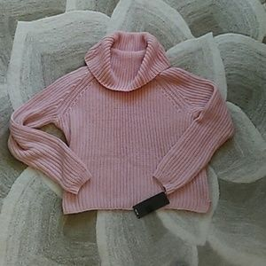 Cozy pink sweater NEW